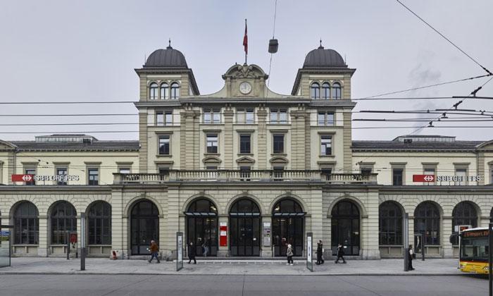 Железнодорожный вокзал Винтертура