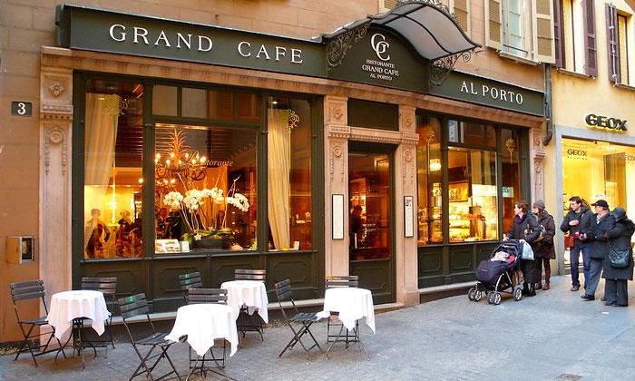 Кафе «Al Porto» в Лугано