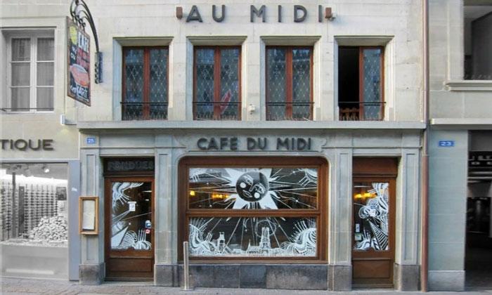 Кафе «Du Midi» во Фрибуре
