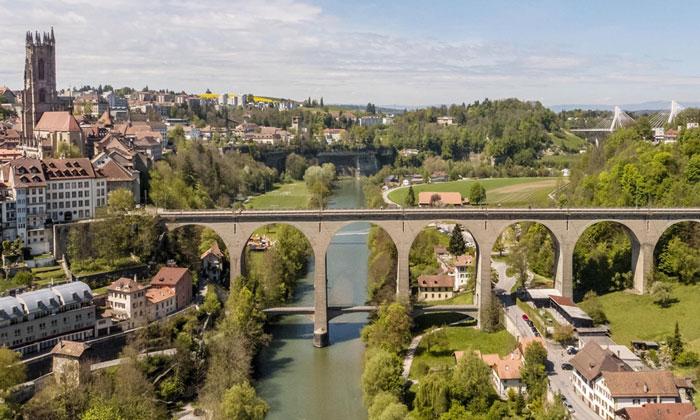 Мост «Zaehringen» во Фрибуре