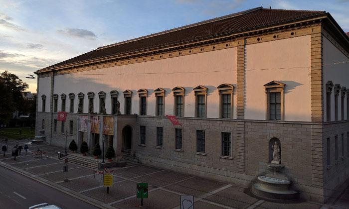 Музей Рейнхарта в городском саду Винтертура