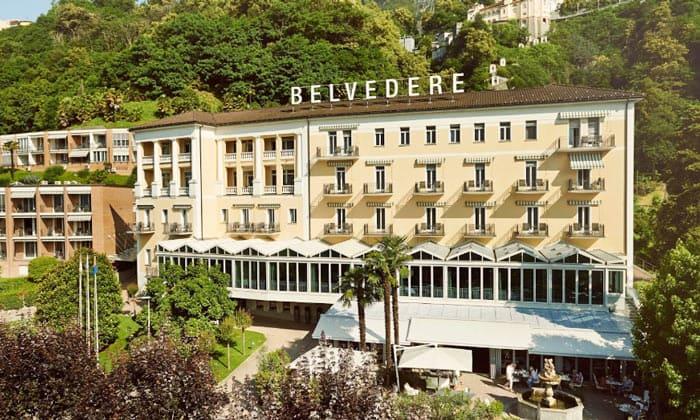 Отель «Belvedere» в Локарно