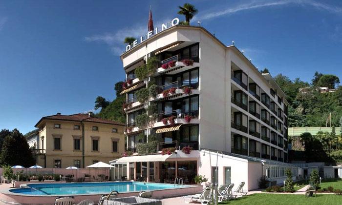 Отель «Delfino» в Лугано