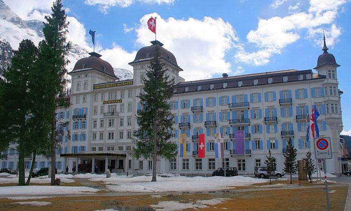 Отель Kempinski Grand des Bains в Санкт-Морице