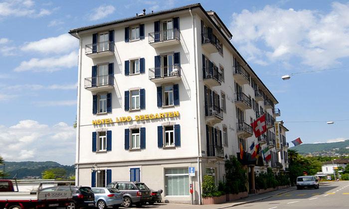 Отель «Lido Seegarten» в Лугано