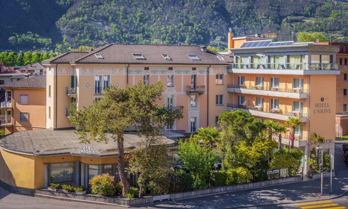 Отель «Unione» в Беллинцоне