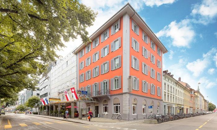 Отель «Wartmann» в Винтертуре