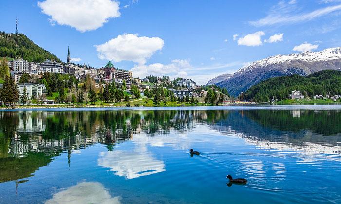 Озеро Санкт-Морица