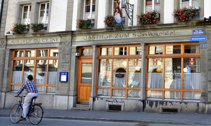 Ресторан «Auberge du Cygne» во Фрибуре