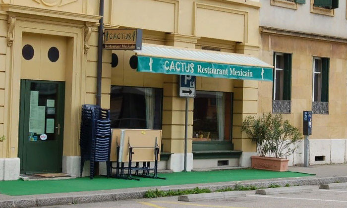 Мексиканский ресторан Cactus в Невшателе