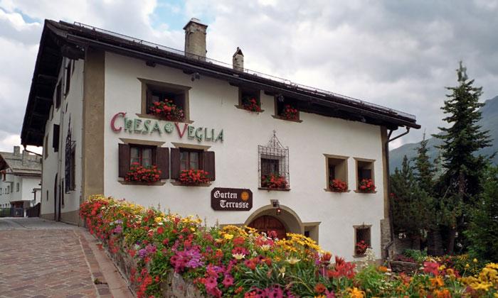 Ресторан Chesa Veglia в Санкт-Морице