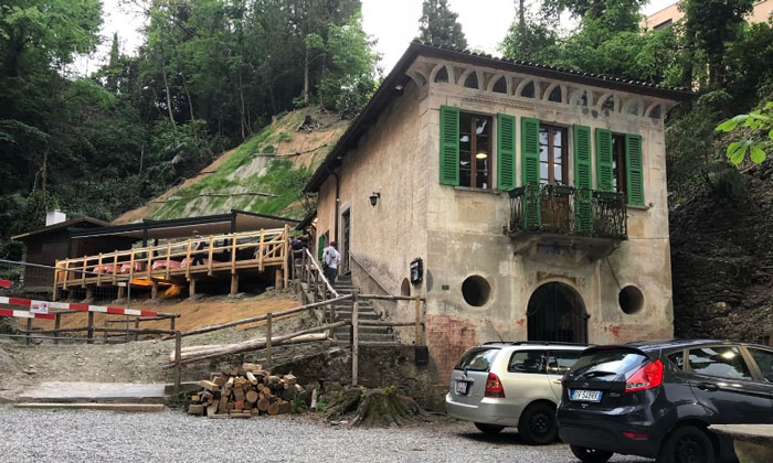 Ресторан «Grotto Morchino» в Лугано
