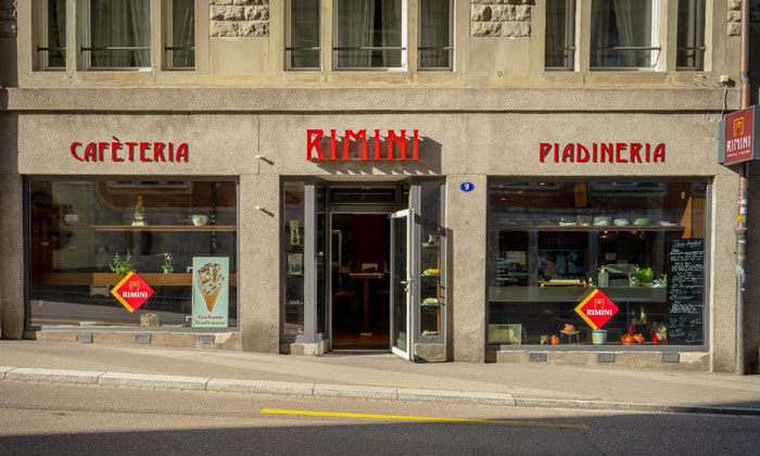 Ресторан «Rimini» в Санкт-Галлене