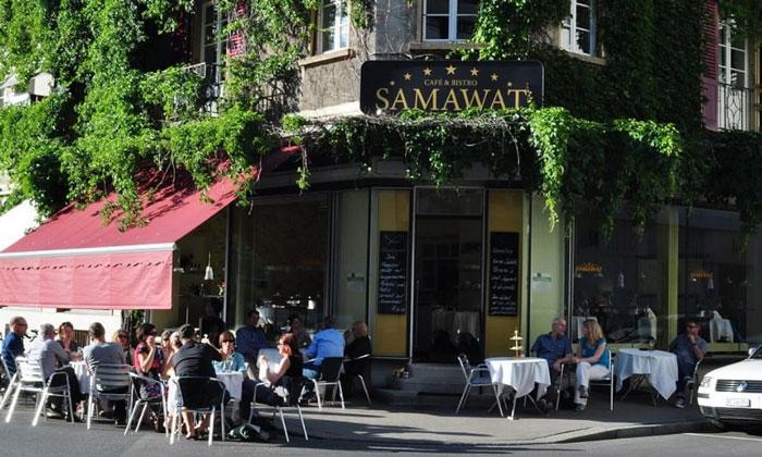 Ресторан «Samawat» в Биле