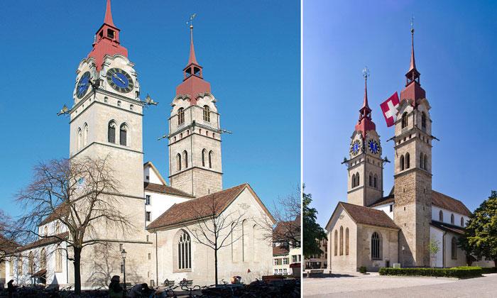 Приходская церковь (Stadtkirche) Винтертура