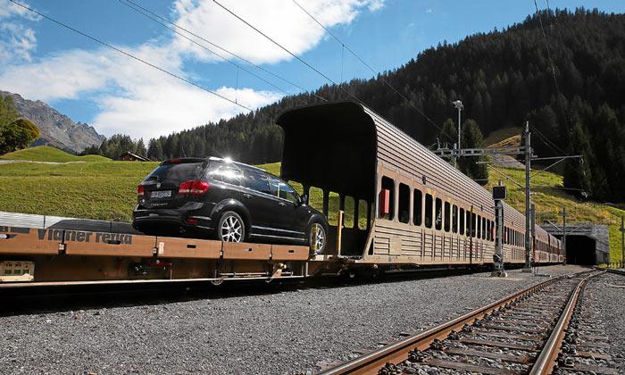 Тоннель Верейна в Швейцарии