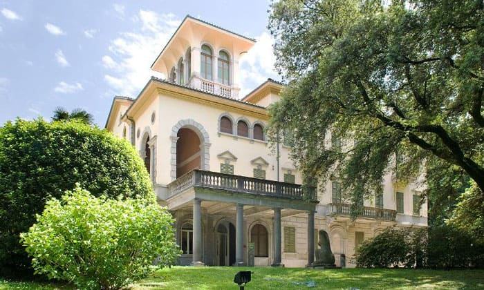 Художественный музей (Villa dei Cedri) Беллинцоны