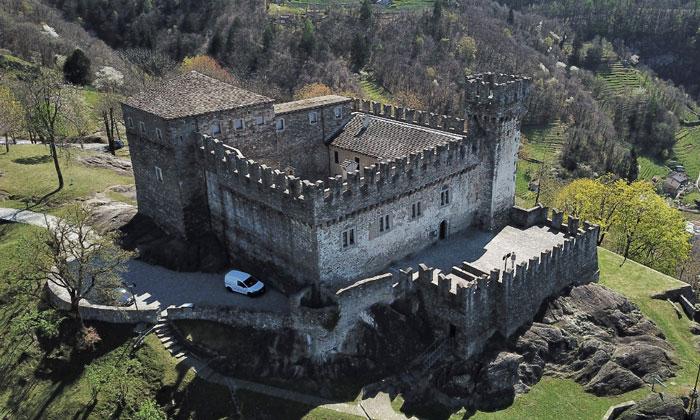 Замок Сассо Корбаро в Беллинцоне