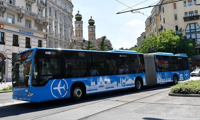 Автобус из аэропорта Ференца Листа в Будапешт