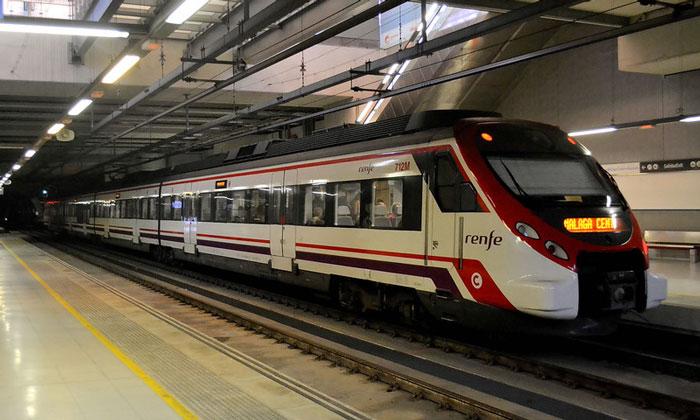 Скоростная электричка Renfe из аэропорта Малаги