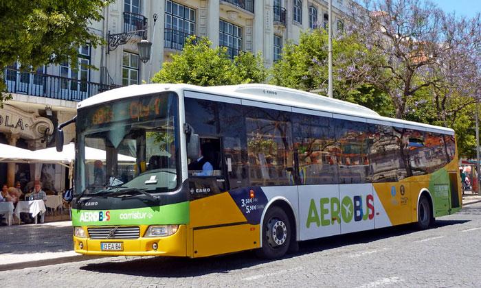 Шаттл (Aerobus) из аэропорта Умберту Делгаду в Лиссабон
