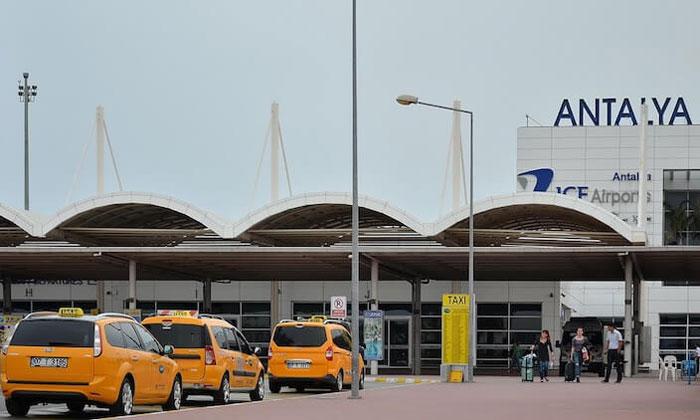 Муниципальные такси из аэропорта Анталии