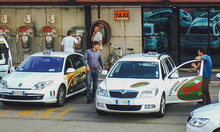 Такси из аэропорта Мальпенса в Милан