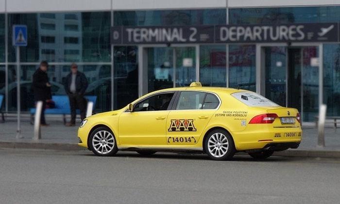 Такси из аэропорта Вацлава Гавела в Прагу