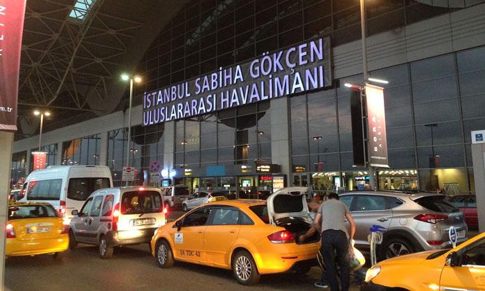 Местные такси аэропорта Стамбула – Сабихи Гёкчен