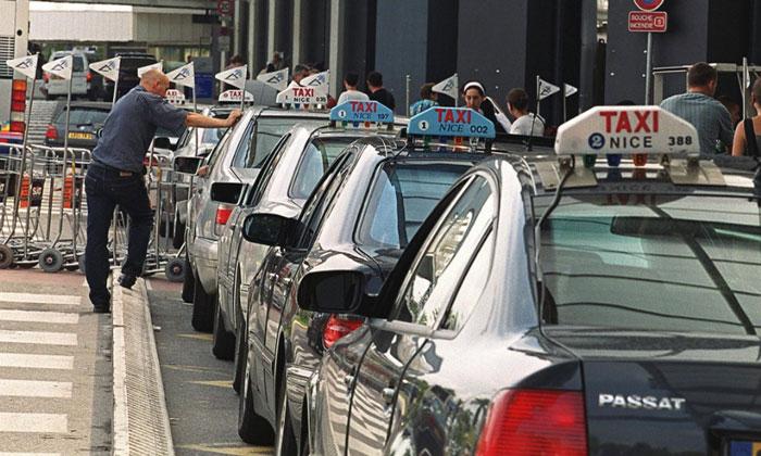 Муниципальные такси из аэропорта Ниццы