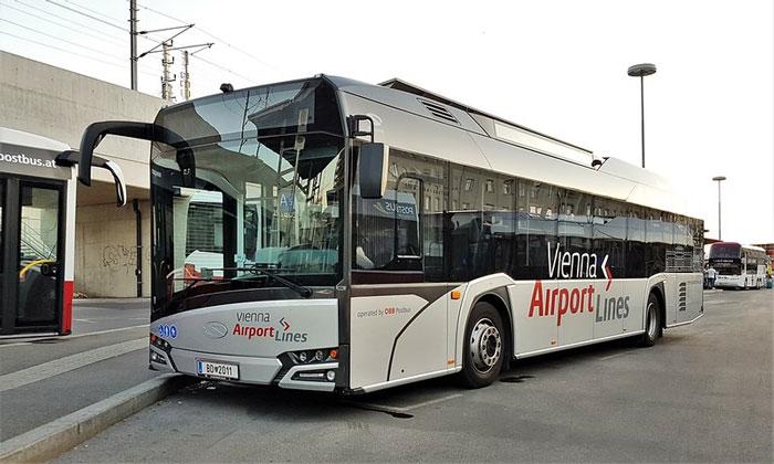 Экспресс-шаттл (Vienna Airport Lines) из аэропорта Швехат в Вену
