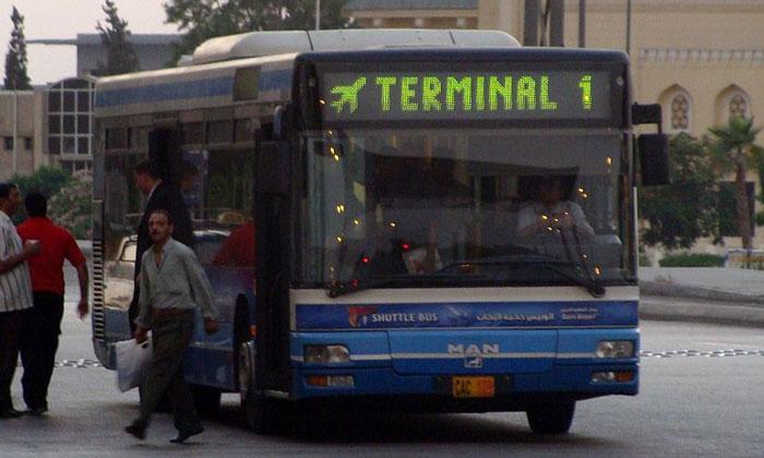 Автобус-шаттл из аэропорта Каира