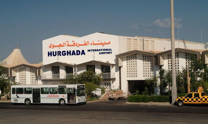 Муниципальный автобус из аэропорта Хургады