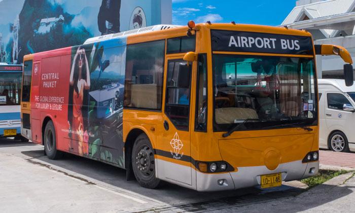 Автобус из аэропорта Пхукета в город
