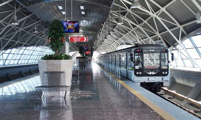 Метро из аэропорта Софии