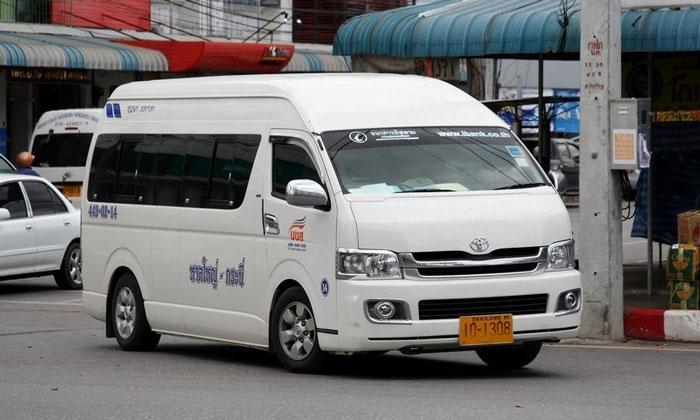 Маршрутка (микроавтобус) из аэропорта Пхукета