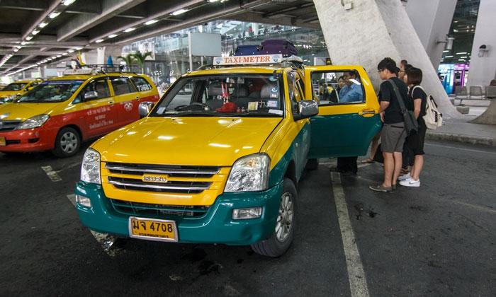 Муниципальные такси из аэропорта Суварнабхуми в Бангкок