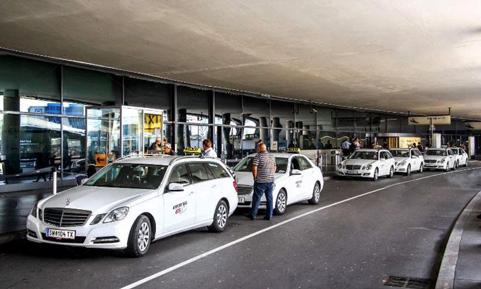 Муниципальные такси из аэропорта Швехат в Вену