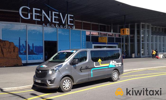 Трансфер из аэропорта Женевы в город