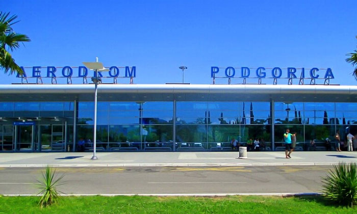 Международный аэропорт Подгорицы