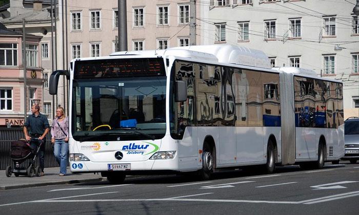 Автобус из аэропорта Зальцбурга