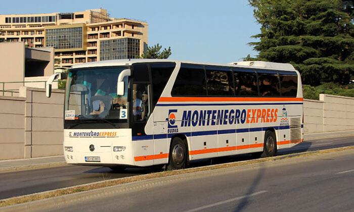Автобус из аэропорта Тивата в Будву