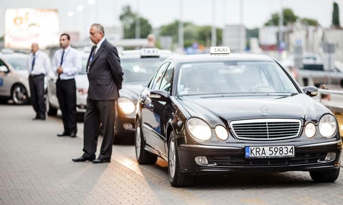 Такси из аэропорта Балице в Краков