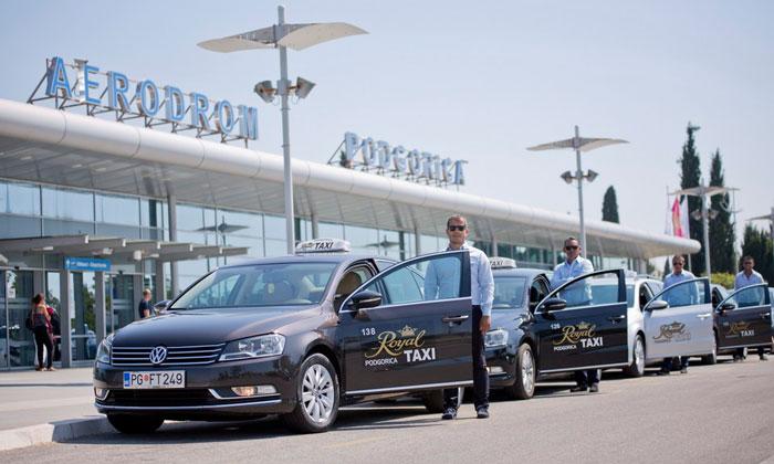 Такси из аэропорта Подгорицы