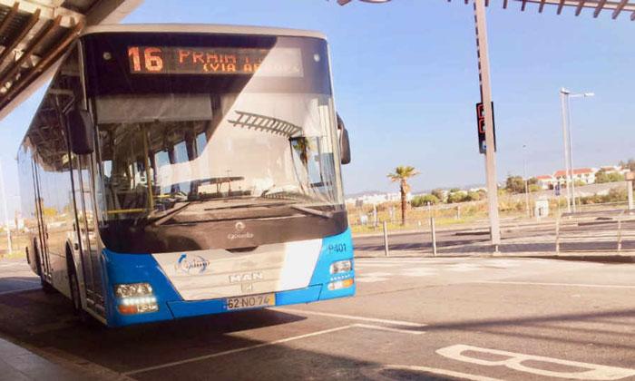 Автобус 16 из аэропорта Фару