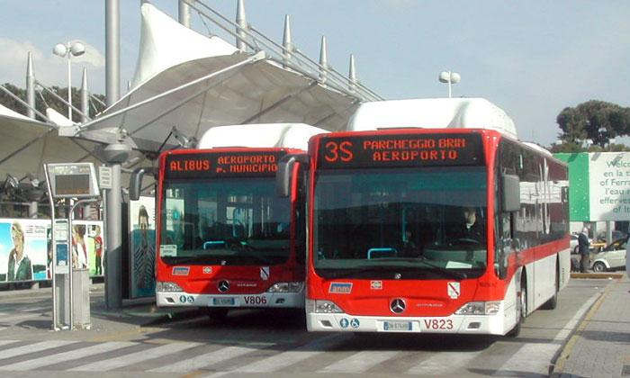 Шаттлы Alibus из аэропорта Неаполь-Каподикино