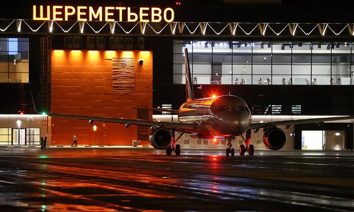 Международный аэропорт Шереметьево в Москве