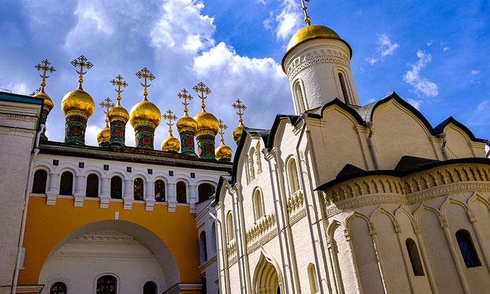 Церковь Ризоположения московского Кремля