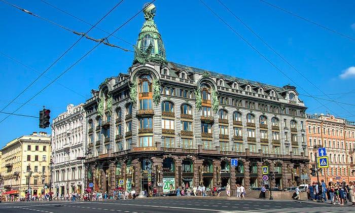 Дом компании Зингер в Санкт-Петербурге