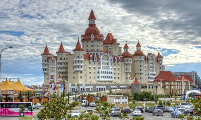 Парк-отель «Богатырь» в Сочи